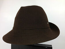 Kangol tropic Gaffer Trilby Brown Men's Hat