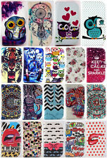 1X Flip PU Magnetic Leather Wallet Soft Cover Stand Case For Various Cell Phones