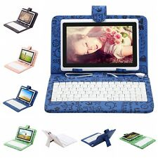 "iRulu 7"" 8GB/16GB Tablet PC Android 4.2 Dual Core&Cam w/ Cartoon Keyboard"