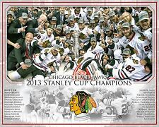 2013 Stanley Cup Champions Chicago Blackhawks Custom photo