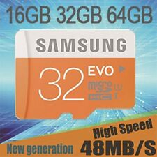 SAMSUNG Micro SD Card  16GB 32GB 64GB TF Flash Memory Card With Adapter Class10