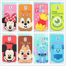 Fashion Minnie Mickey Stitch Sulley cover for Samsung many model cell phone case