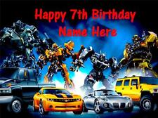 Transformers edible icing cake toppers. View 5 images Select + personalise!