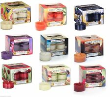 YANKEE CANDLE - NEW FOR 2014 - TEALIGHT COLLECTION - LIMITED EDITION FRARANCES!