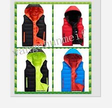 2014 Winter down cotton hooded men / women cotton vests vest waistcoat jacket