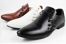 New Mens Dress Formal pointed toe Oxfords Wedding party Office Casual Shoes