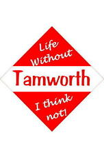 Tamworth Car/window signs / Personalised signs / flexible magnets