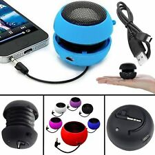 3.5MM SPEAKER RECHARGEABLE HOT PINK  FOR NUMEROUS PHONES PORTABLE