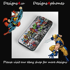 MARVEL DC RETRO PHONE CASE FOR IPHONE 4s 5 5s 5c & 6  SAMSUNG S3 S4 S5 + S4 MINI
