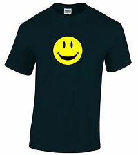 ACID HOUSE RAVE T-SHIRT SMILEY FACE MENS ALL SIZES