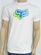 Fox Racing Astra Tee Mens Solid White Graphic Crew T-Shirt New NWT