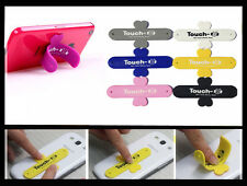 One Touch-U Mobile Phone Silicone Sticker Stand,Perfect For iPhones/Smart Phones