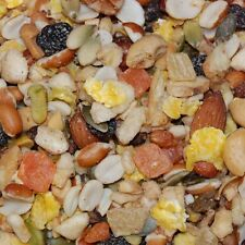Higgins shelled parrot fruits and nuts Walnuts, Brazil Nuts, Almonds, Pistachios