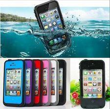 New PC Waterproof Shockproof Dirt Snow Proof Hard Cover Case For iPhone 4S 4