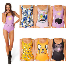 Sexy Bathing Suit One Piece Adventure Time Lumpy Jake Ice King Finn SwimsuitSexy