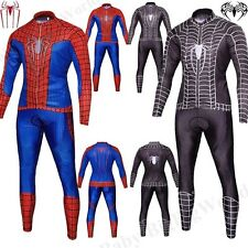 Venom The Amazing Spiderman Cosplay Costume Fancy Dress Halloween Suit M-XXL SEN