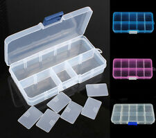 10 Cells Storage Box Case For Loom Kit Rubber Bands Charms Clips Hook DIY Crafts