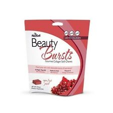 NeoCell Beauty Bursts Gourmet Collagen Soft Chew Fruit Punch - 60 Chews (#9399)