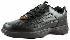 Townforst Mens Non Slip Resistant Work Shoe Black Fashion No Slip