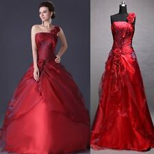 Amazing Quinceanera Party Bridal Gown Prom Ball Evening Ladies Wedding Dresses