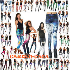 Leggings Pants Tights Super Wonderful Punk Gothic Galaxy Print Factory Outlet