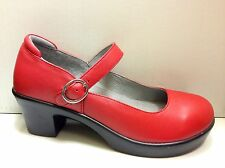 NEW - ALEGRIA Women's HARPER Leather Shoes - Red Butter  -  HAR-644