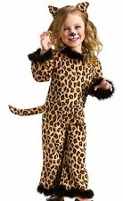 Pretty Leopard Costume Girls Kids Child Infant Toddler Kitty Cat - 24M-2T, 3T-4T