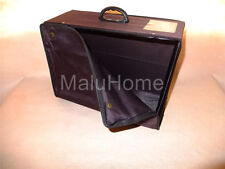 Foldable Durable Canvas Suitcase Box for Wedding Evening Dress Gown Storage