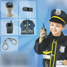 Children's Halloween Party cosplay Policeman costume suit high quality kids gift