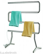 Electric Heated Free Stand Towel Rail Stand Hanger/Holder dryer/heater/bathroom