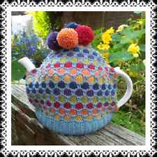 Bubbles Tea Cosy Pattern or Kit. Rowan Pure Wool 4ply.Easy Pattern.Free UK P&P