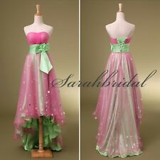 In Stock Pink Prom Dresses Cheap Sweetheart Sash Short Homecoming Dress Gowns