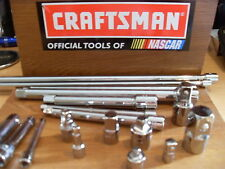 """NEW CRAFTSMAN 1/4"""",3/8"""" OR 1/2"""" EXTENSION BAR OR ADAPTER - CHOOSE SIZE FREE SHIP"""