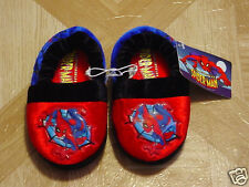 The Spectacular Spider-man Toddler Boys Pull-on Slippers Sizes, 5/6 7/8