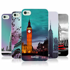 HEAD CASE BEST OF PLACES SET 2 TPU GEL BACK CASE COVER FOR APPLE iPHONE 4