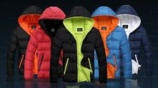 2013 new men's winter warm  casual hooded Thicken cotton coat jacket