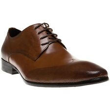 New Mens SOLE Tan Ellery Leather Shoes Lace Up