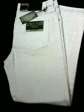 MENS WHITE JEANS COMFORT FIT BNWT