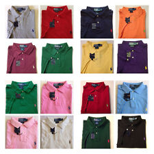 NEW, Authentic Men's Polo Ralph Lauren Polo Shirt, Mesh S/S CUSTOM FIT S M L XL