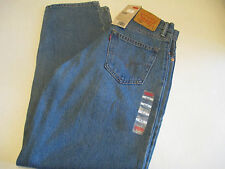 MENS LEVI'S 560 COMFORT FIT JEANS MED BLUE WASH  - New