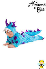 BABY TODDLER MONSTER HALLOWEEN FANCY DRESS ONESIE OUTFIT COSTUME 6-12-18 MONTHS