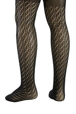 Serlei Toddler Kids Girls Cable Crochet Decorative Lace Pantyhose Tights Black