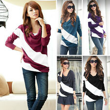Fall/Winter Lady Slim Fit High Collar Long Sleeve Casual Basic Tops Shirt Blouse