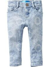 NWT Floral-Print Skinny Jeans for Baby/Toddler Pick your size! 18-24,3T,4T,& 5T