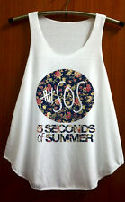 5 Second of summer Shirt 5SOS Flora 5 SOS TShirt Tank Top Ashton Irwin Clothing