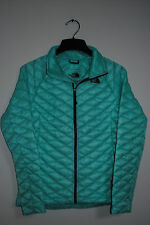THE NORTH FACE THERMOBALL JACKET WOMENS MINT BLUE PRIMALOFT S M L XL NEW