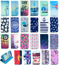 Hybrid PU Leather Wallet Flip Pouch Stand Case Cover For Samsung Galaxy S3 i9300