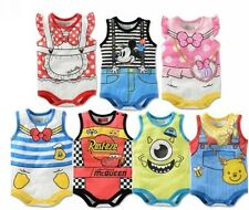 Bady Infant Romper Costume Sleeveless One Piece Clothes BD833