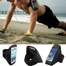 Samsung CASE FOR Running Sports Gym Jogging Cover Armband Galaxy S4 w/ Key Pouch