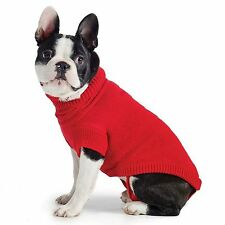 Dog Puppy Red Knit Sweater Jumper Coat Warm Comfortable Cover - Sizes to Fit All